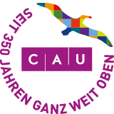 Logo zum 350-jährigen Jubiläum der Christian-Albrechts-Universität zu kiel